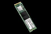 Флеш-накопитель Transcend Твердотельный накопитель SSD 128GB, M.2 PCI-Express Gen3 x4  3D TLC