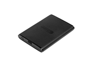 Флеш-накопитель Transcend Внешний твердотельный накопитель External SSD Transcend 960Gb, USB 3.1 Gen 1, Type C размером с пластиковую карту В комплекте с двумя кабелями Type C-A и Type C-C