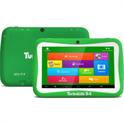Компьютер планшетный Turbo TurboKids S4  7.0'' WSVGA(1024x600) TFT/Rockchip RK3126 1.3GHz Quad/512MB/8GB/WiFi n/0.3MP+2.0MP/microSD/3300mAh/290g/A5.1/1Y/GREEN
