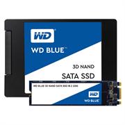 Накопитель твердотельный WD Твердотельный накопитель SSD WD Blue 3D NAND WDS500G2B0B 500ГБ M2.2280 SATA-III (TLC)