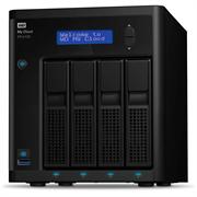 """Накопитель на жестком магнитном диске WD Сетевой накопитель WD My Cloud Pro PR4100 WDBKWB0080KBK-EEUE 8TB 3,5"""" LAN NAS"""