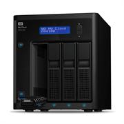 """Накопитель на жестком магнитном диске WD Сетевой накопитель WD My Cloud Pro PR4100 WDBKWB0240KBK-EEUE 24TB 3,5"""" LAN NAS"""