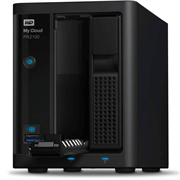 """Накопитель на жестком магнитном диске WD Сетевой накопитель WD My Cloud Pro PR2100 WDBVND0000NBK-EEUE 0ГБ nondrive 3,5"""" LAN NAS"""