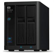 """Накопитель на жестком магнитном диске WD Сетевой накопитель WD My Cloud Pro PR2100 WDBVND0080JBK-EEUE 8TB 3,5"""" LAN NAS"""