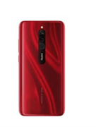 Смартфон Xiaomi Redmi 8 Ruby red (M1908C3IG), 6.22'' 1520x720, 1,95 ГГц+1,95 ГГц, 8 Core, 4GB RAM, 64GB, 12Mpix+2Mpix/8Mpix, 2 Sim, 2G, 3G, LTE, BT v4.2, Wi-Fi, GPS / AGPS, GLONASS, Beidou, Type-C, 5000mAh, Android 9.0 (Pie), 190g, 156,48 ммx75,41 ммx9,4