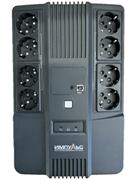 Источник бесперебойного питания Импульс Мастер, Интерактивная, 800 VA / 480 W, Tower, Schuko, LED, Serial+USB, USB